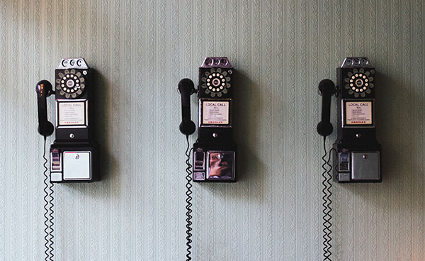 old school pay phones