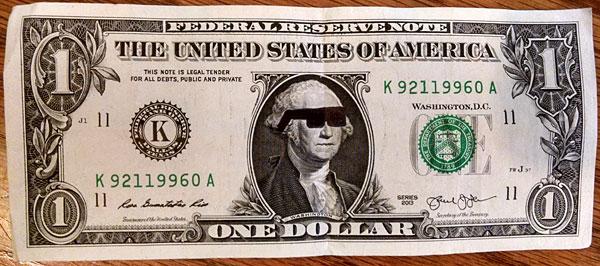 one dollar shades