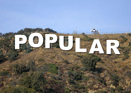 most popular hollywood sign