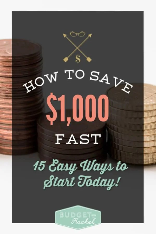 How to save $1,000 fast | money saving tips that really work | save money fast | effortless changes to save money | money saving ideas | money management tips | personal finances | budgeting for beginners tips to save money #budget #moneysavingtips #moneysavingideas #personalfinance #freeprintables #debtfree #debtpayoff