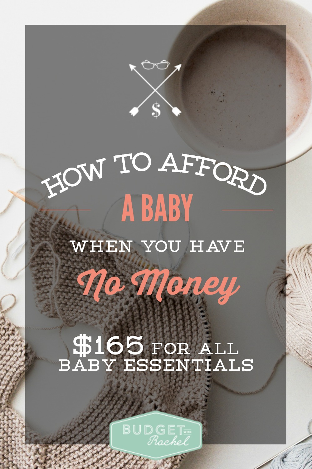 How to Afford a Baby When You're Broke (Only $165 for all newborn essentials!) This is awesome! I was freaking out about how to afford a baby and now I know I can do it! $165 to get through the first month of my baby's life? Yes, please!! This is so practical and has given me permission to give my baby what he actually needs.