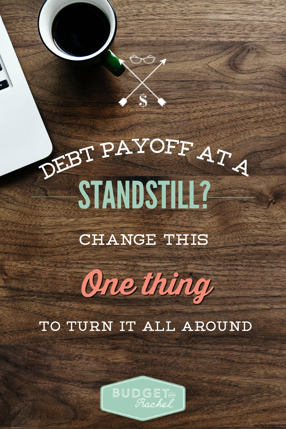 The One Change You HAVE to Make to Dump Debt. This is so simple, but so impactful. This one change will be my new mantra to help me dump debt fast!! This is why I have been struggling. I have been missing this one thing!