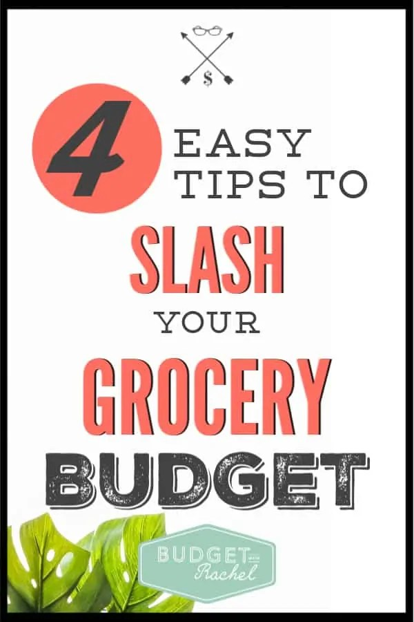 Looking for ways to lower your grocery budget? These are simple tips that can help you cut in half! I feed my family of 4 for $250/month using these tips! #budget #moneysavingtips #savemoney #budgettips