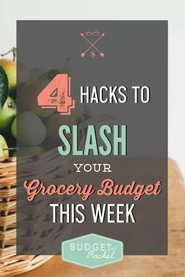 4 tips to improve your grocery budget | save money on groceries | lower your grocery budget | decrease the money you spend on food | cut food costs in one week | grocery shopping hacks to cut costs in one week | stop overspending on groceries with these 4 simple tips | slash you spending on groceries #groceries #savemoney #budget #mealplan #freeprintables