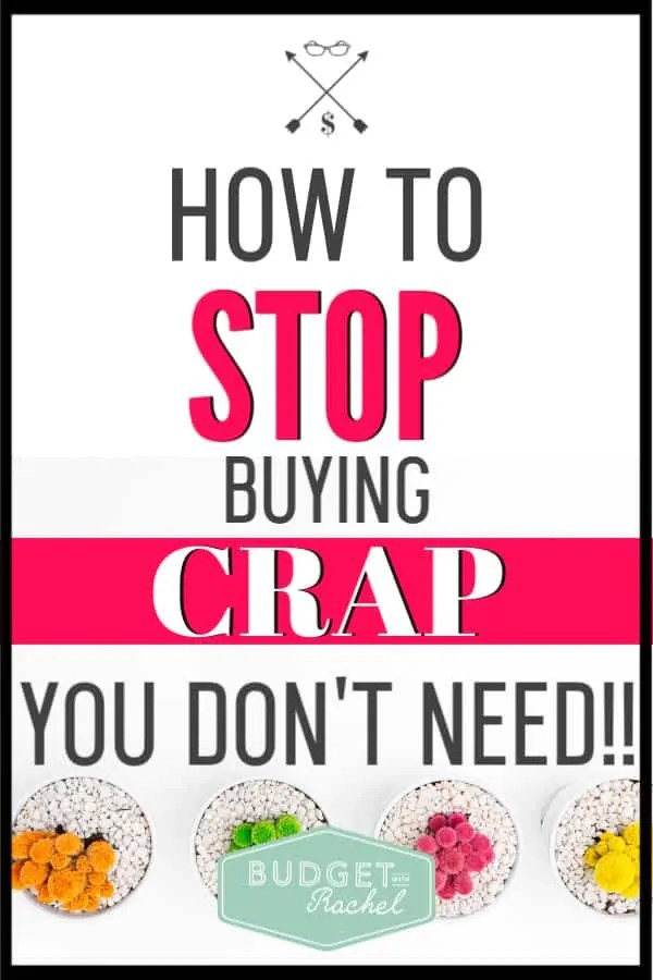 I used to go into Target with a shopping list of three items. Fast forward to one hour later and I spent $300 on stuff I didn't even know I needed! After using these 5 tips, I have been able to stop impulse shopping and stop buying stuff I don't need. These shopping tips work! #impulseshopper #budget #money #savemoney