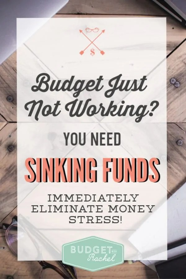 What are sinking funds? | Why do you need sinking funds? | These are 5 reasons you should be using sinking funds | Budgeting for beginners | budgeting tips | sinking funds for beginners | expense planning | money management tips | personal finance tips #budgeting #budgettips #debtfree #debtpayoff #moneymanagement