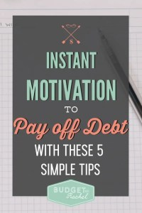 5 simple tips to re-motivate your debt payoff plan when you are paying off tons of debt   how to get motivated when you are in your debt payoff journey   financial freedom   ways to become encouraged and motivated on your debt payoff journey   easy motivational hacks to use while getting out of debt   debt payoff   debt free   motivation for debt payoff   free printables #debtfree #debtpayoff #motivation #freeprintables