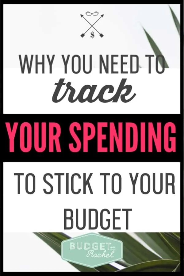 Tracking your spending is so important to having a successful budget. If you can start tracking your spending, you will notice a huge difference. Budgeting can be really challenging if you aren't paying attention to where your money is going. This will be a game changer for you! #budget #spending #savemoney