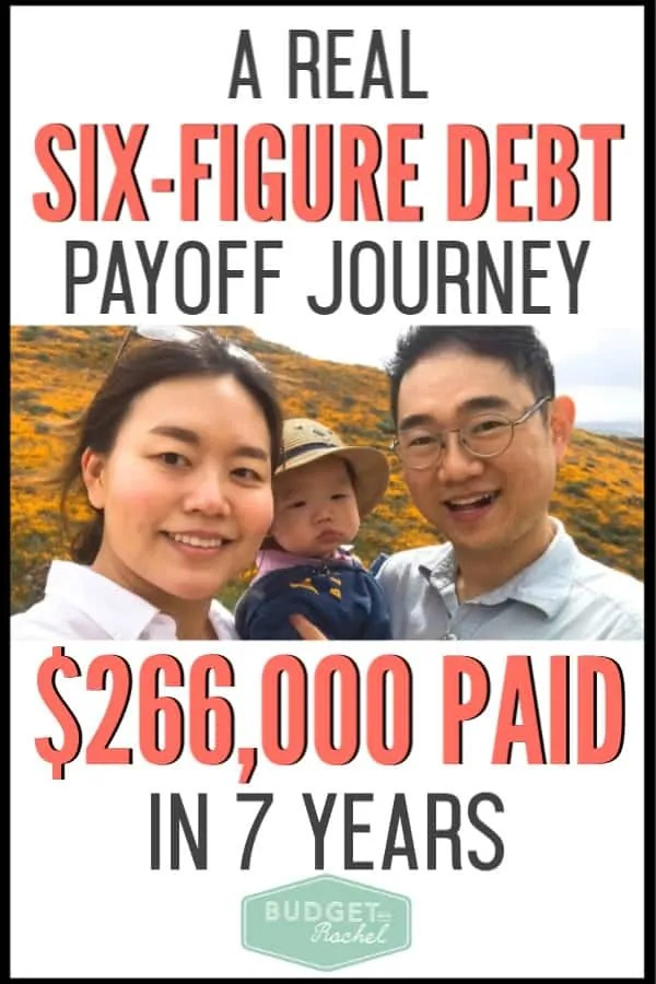 This is a true story of inspiration if you are trying to get out of debt. This debt payoff journey is an example of what it takes to become debt free. This kind of financial freedom achievement is totally achievable! #debtfree #debtpayoff #financialfreedom