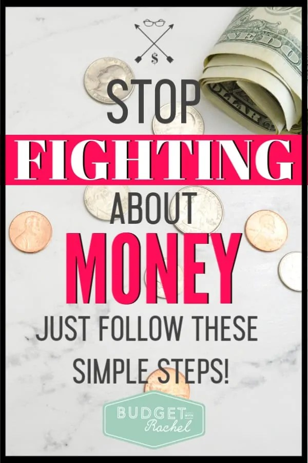 My husband and I used to fight about money all the time. Since using these simple budget tips, we have been working together with our finances. I didn't even know how to talk to my husband about our budget before, now we are working on it together! If you struggle with knowing how to set up and talk your husband about a budget, this will help!