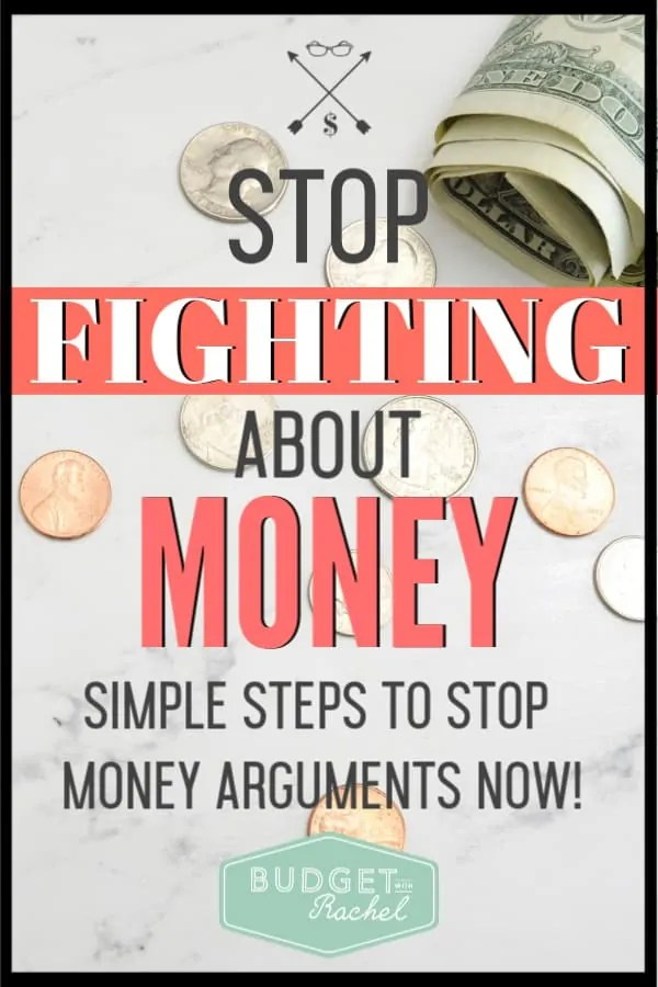 Budgeting as a couple can be challenging. Learn how to bring two money personalities together to get on the same page. Use these budgeting tips to stop fighting about money and start having financial success! These simple steps helped my husband and I stop fighting about money! #budget #budgettips #personalfinance