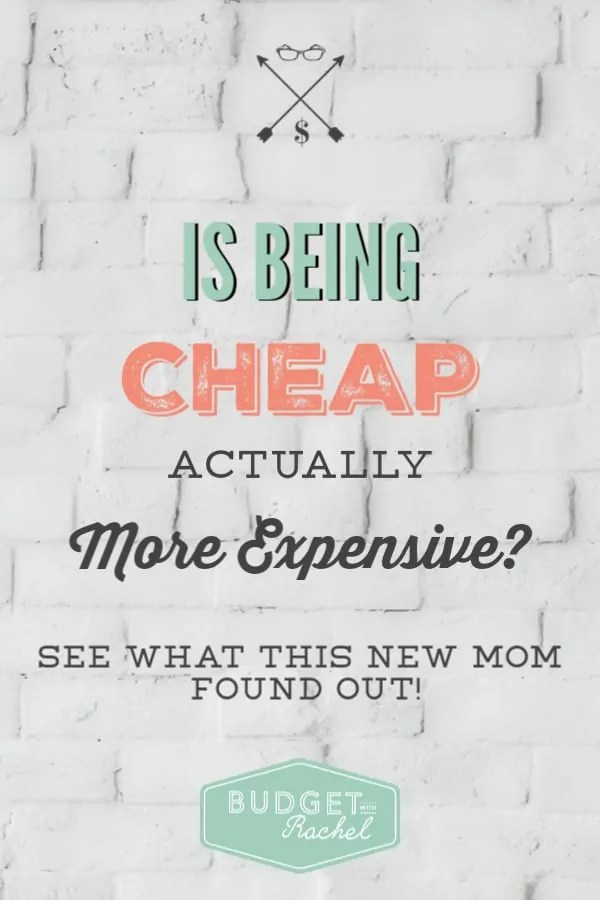 frugal living can sometimes be expensive | being cheap can end up being really expensive sometimes | some things are worth the money | money saving tips | newly frugal experiences | mom life #frugalliving #moneysavingtips #frugal #budgetingtips #money