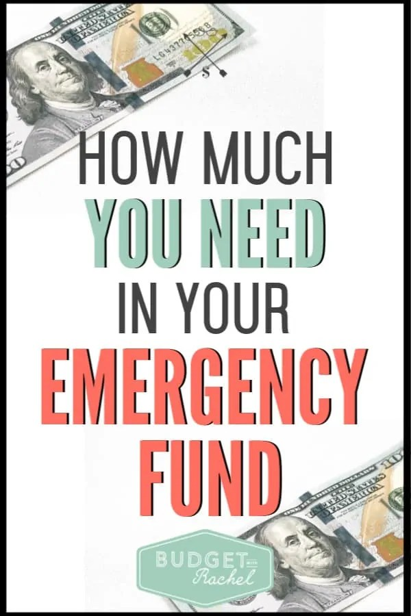 Not sure how to have an emergency fund or how much money you should have in it? Learn how much money you should save for emergencies. Use our free printables to save for your emergency fund today! #moneysavingtips #savemoney #budget