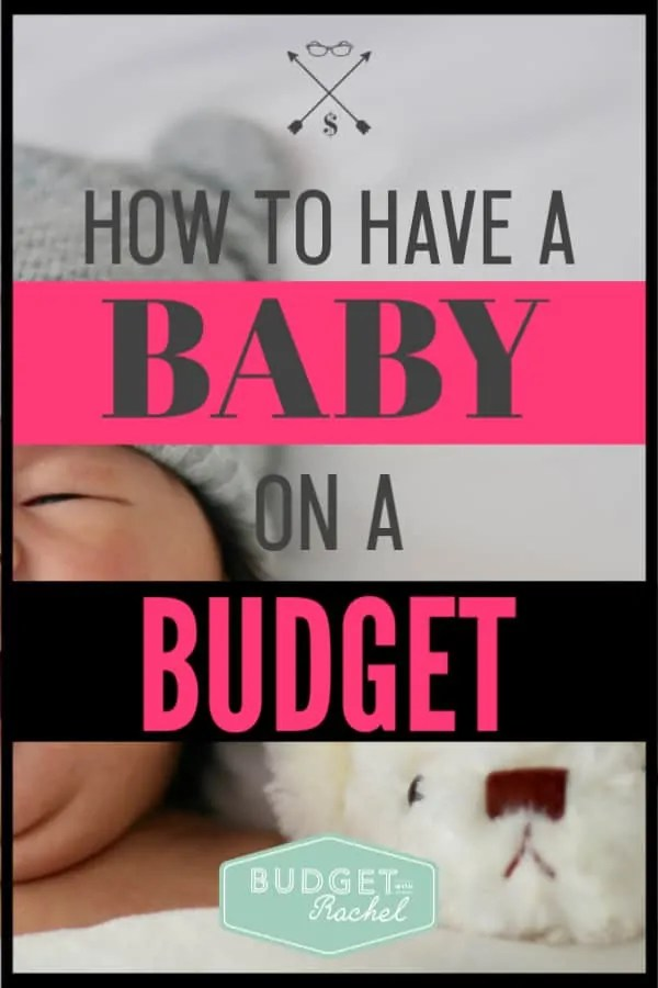 Babies can be so expensive, but they really don't have to be! There are certain things you can do to make sure you have the essentials but aren't spending too much on non-essential items. I was able to have a newborn for $165! It was huge savings! #baby #budget #savemoney