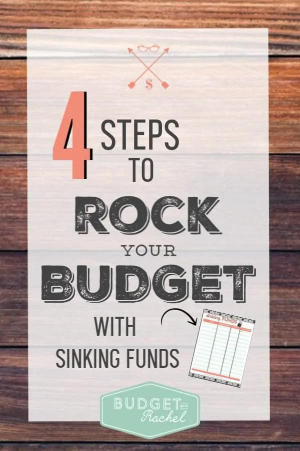 I had no idea sinking funds were so amazing until I used these 4 tips to put them into my budget. I am paying off debt, saving money and staying within my budget all thanks to sinking funds! This has been a game-changer. This gives steps to show how to use sinking funds to be successful with your money. You do not want to miss this!