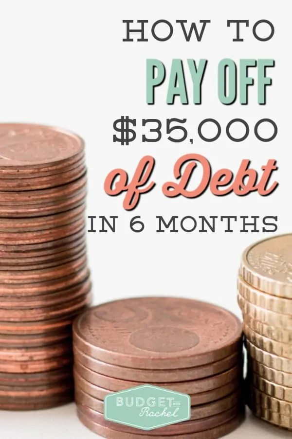How to pay off debt fast | pay off $35,000 of debt in 6 months | debt free | financial freedom | dave ramsey | learn how to pay off debt with a debt payoff plan | tips and tricks to pay off debt | debt free journey #debtfree #debtpayoff #daveramsey #budget #financetips #financedaveramsey