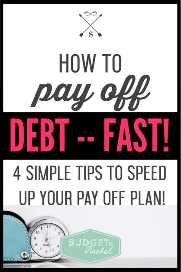 My debt payoff was feeling stalled. I just could get momentum to get it going again. These debt payoff tips helped me get back on track and pay off my debt even faster! I was able to pay off $35,000 in 6 months using these tips! If you are trying to get out of debt, you need to check this out!