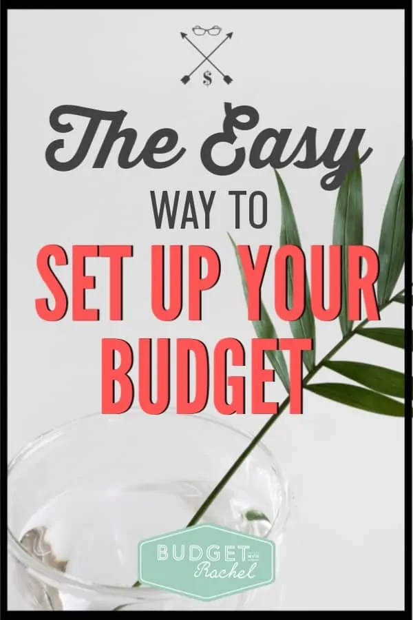 Setting up a budget seems so overwhelming, but using this budget system makes it so easy! These simple budgeting tips and tricks are amazing! I wish I had found this sooner. It seriously feels like I've gotten a raise since starting to budget!