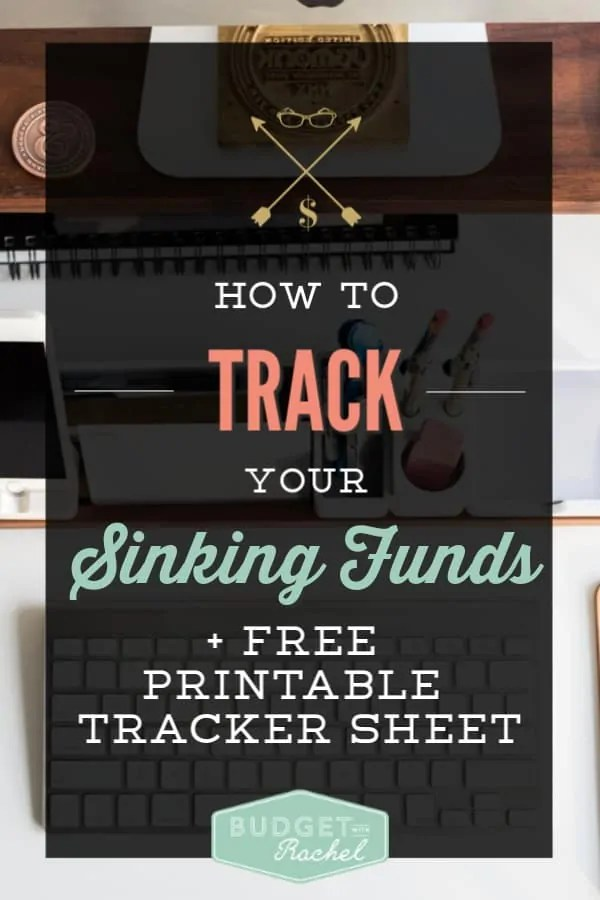 How to track your sinking funds | Sinking Funds Tracker Sheet | Sinking funds for your budget and debt payoff | debt free using sinking funds | budgeting for beginners using sinking funds | budgeting tips #budgettips #debtpayoff #freeprintables #financetips