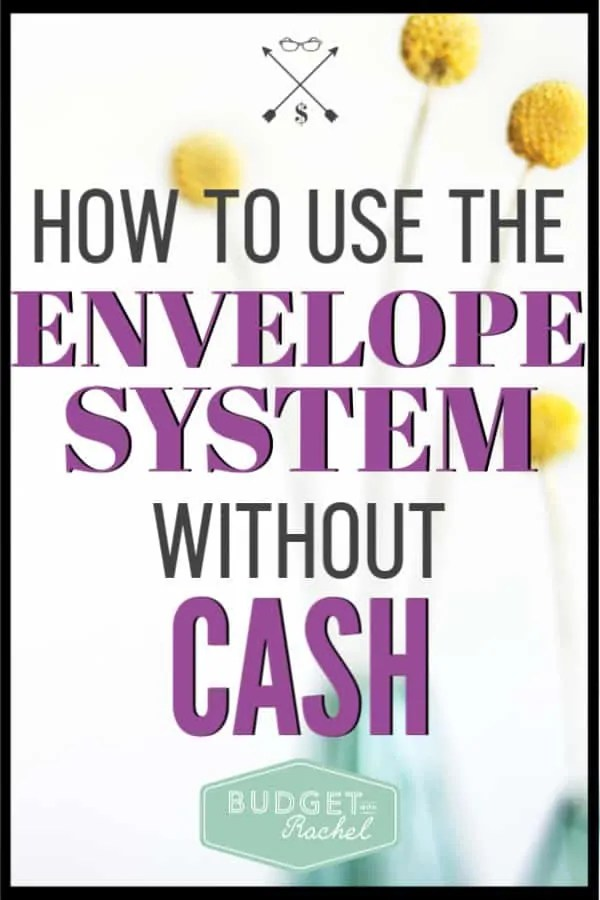 The cash envelope system is one of the best things you can do to stick to your budget. BUT, what happens when you can't carry cash with you? This is a super easy to use system for still having an envelope system without the cash. This works for everyone and will help you stick to your budget. If you have been struggling to stick to your budget, you need to be using the cashless envelope system. It will work for you!