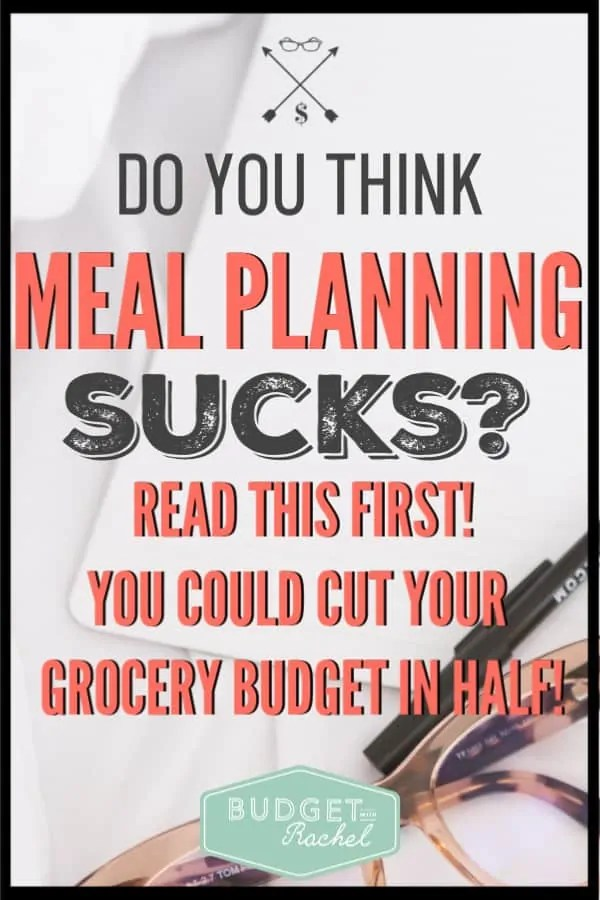 I thought meal planning would be the worst thing in the world to try to accomplish. Turns out, there are 6 amazing reasons to start meal planning. Hint: One of them was cutting my grocery budget in half! It was crazy! #grocerytips #budget #budgettips #savemoney