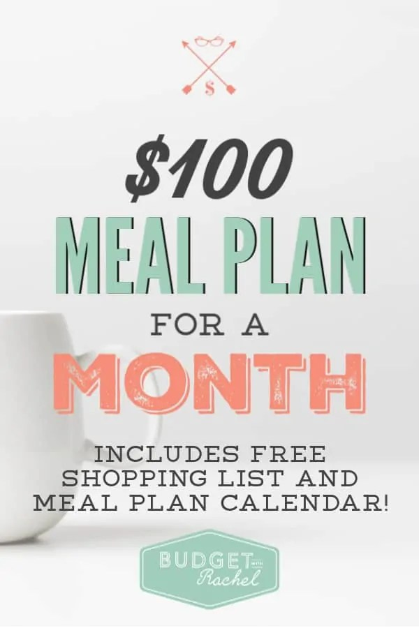 How to feed a family of four for $100 in a month | monthly meal plan | meal plan for a month | $100 meal plan | how to meal plan the easy way | the easiest meal plan for a month | basic meal plan | meal plan on a budget | meal plan when you have no money | save money by meal planning | meal planning for beginners #budget #budgetmeals #mealplan #mealplanning #budget #savemoney #freeprintables