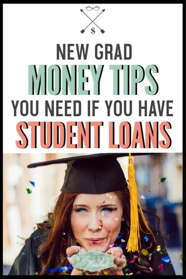 New grad money tips you must know | new grad money hacks | advice for new graduates to understand their finances | financial tips for new grads | recent graduate financial tips | money management tips for college graduates | budgeting for beginners | debt payoff plan | become debt free | free printables #budget #moneymanagementtips #debtpayoff #freeprintables