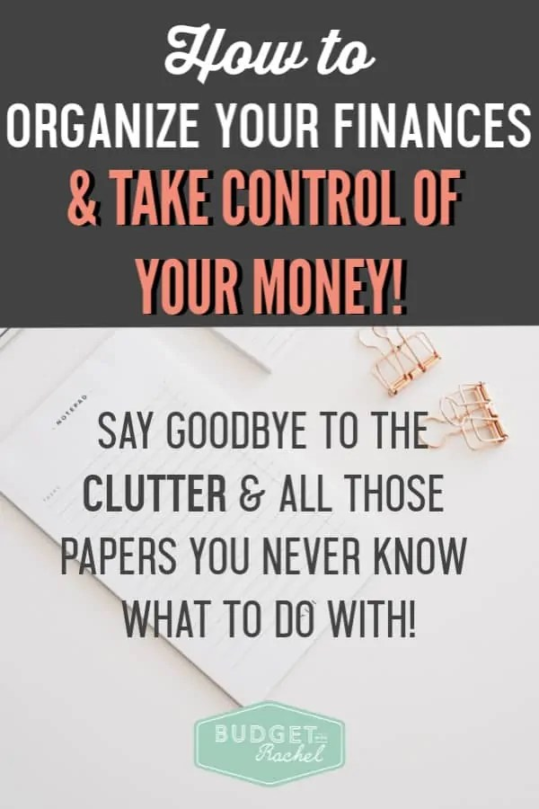 Organize your finances to take control of your money | how to create a filing system to organize your financial paperwork | improve your finances by organizing your bills and paperwork | budgeting for beginners | debt payoff is easier when you're organized | money management tips | money organization #organization | diy organization #moneytips #filefolder#diyorganization #organizingtips