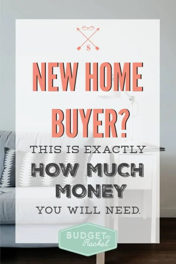 If you are buying a new home here is how much you should have saved | how to prepare to buy your first home | first time home buyer | first home | save money for your first home | first time home buyer expenses | budget for your first home | save money ideas | save money tips | home budget #home #firsthome #budget #savemoney #freeprintables