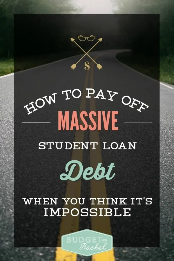 Student loan debt payoff plan for the long-haul | student loan debt tips and tricks | student loan payoff plan #debt #debtsnowball #loans #debtfree