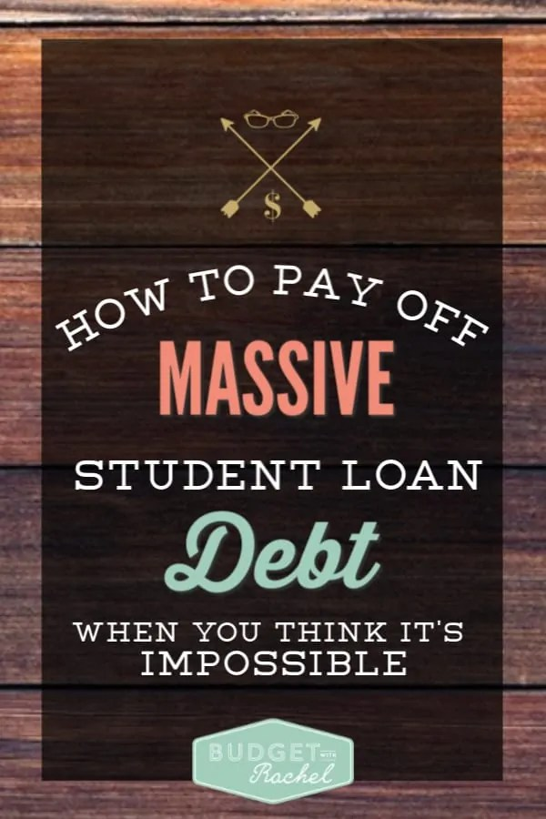 How to pay off student loans | how to overcome massive debt | how to dump a large amount of debt | debt payoff for graduates | how to become debt free when you have student loans | student loan payoff | debt payoff | debt free | becoming debt free | student loans | overwhelming debt load #debt #debtfree #debtpayoff #studentloans #loans
