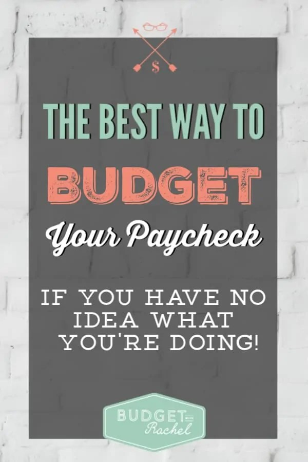 How to budget your paycheck | paycheck budgeting | how to budget effectively | how much money to spend on categories | budget categories | how to split up your paycheck #paycheck #budget #money #budgettips