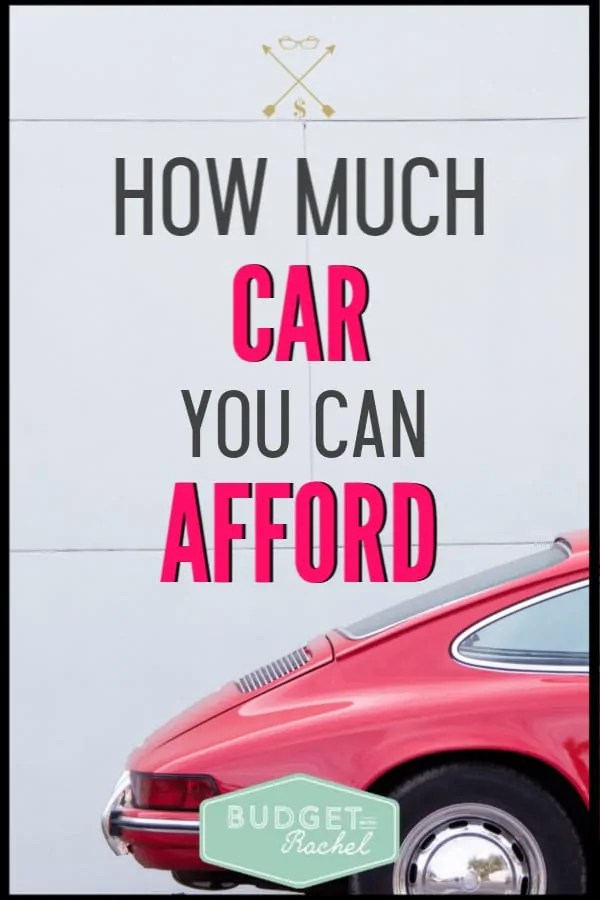 I didn't know how much money to spend on a car, but this totally explained it! Avoid debt with this plan to buy a car. By following these budgeting tips helped me understand what kind of car I could afford! If you are car shopping, you need to read this!