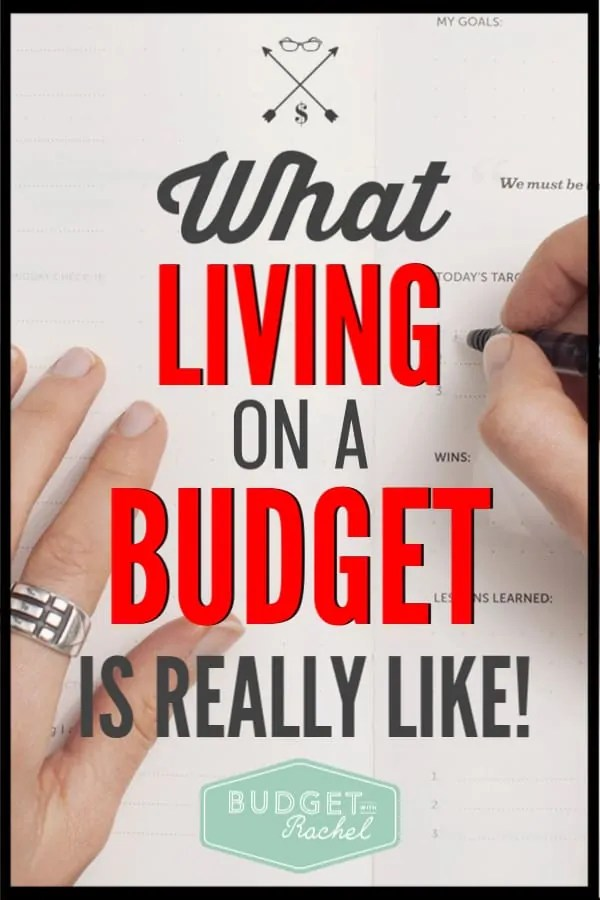 Living on a budget sounded so awful. I loved reading what it is actually like living on a budget. This is real life, what budgeting is actually like. #budget #budgettips #freeprintables