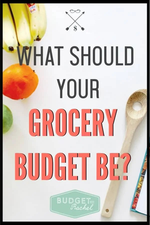 Knowing how much to budget for groceries used to be such a struggle for me. I didn't know what was normal and if I was really overspending. It has helped me so much to know how much to spend on food every month. #budget #budgettips #groceries #savemoney #moneysavingtips