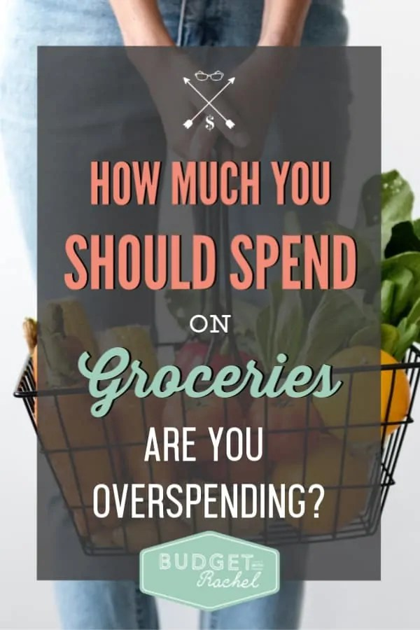 How much money you should be spending on groceries every month | what your grocery budget should be | grocery budget for beginners | grocery shopping and sticking to a grocery budget | save money on food | food shopping tips | budgeting tips | budgeting for beginners | debt payoff strategy with keeping your grocery budget in check #groceries #savemoney #moneysavingtips #budgetingtips #frugalliving