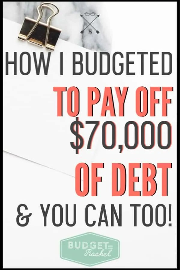 If you have struggled to get ahead financially, or tried budgeting before and it didn't work, you need to start budgeting like this! This method helped me pay off $70,000 of debt with minimal effort. No matter what your financial goals are, you can achieve them with this budgeting method. #budget #budgettips #debtpayoff