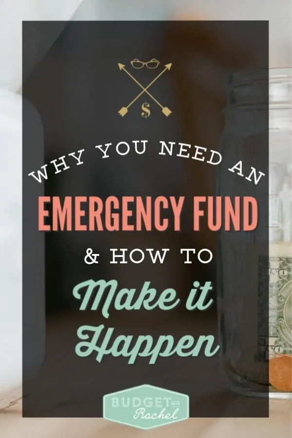 Why you need to have an emergency | how to set up an emergency fund | why you need to have an emergency fund if you want to pay off debt | how an emergency fund will set you up for success | budgeting for beginners | debt payoff for beginners | debt free journey | dave ramsey #debtfree #debtpayoff #emergencyfund #budgetingtips #daveramsey