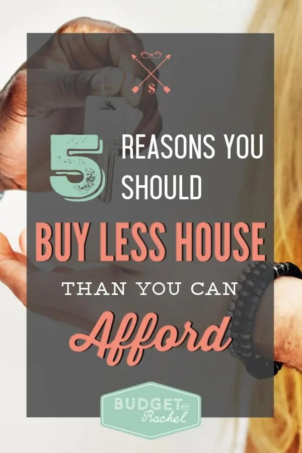 Buying a house can be so overwhelming and I was really tempted to buy an expensive house. I'm so thankful I found this because it saved me from putting myself in a spot where I would be house poor. These reasons to buy a house I can afford make so much sense and seriously saved my finances!