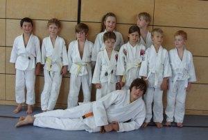 Gürtelprüfung Judo Ismaning