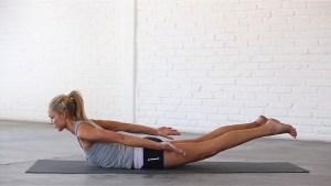 5 эффективных поз йоги от боли в спине - поза Кузнечик