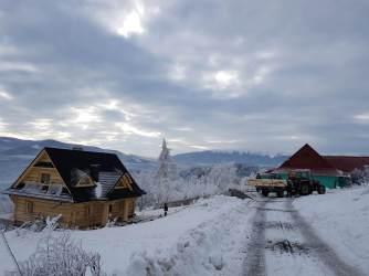 Domy drewniane na zimę