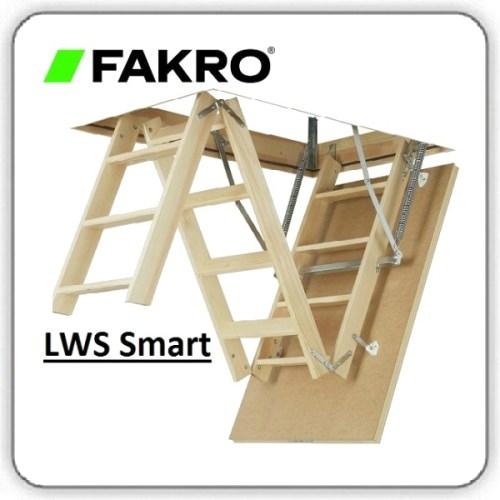 Чердачная лестница FAKRO LWS SMART - Будсервис