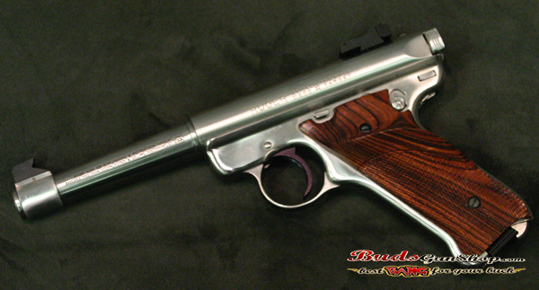 Used Ruger Mark Ii 22lr Ss