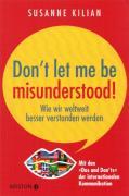 Susanne Kilian - Don't let me be misunderstood.