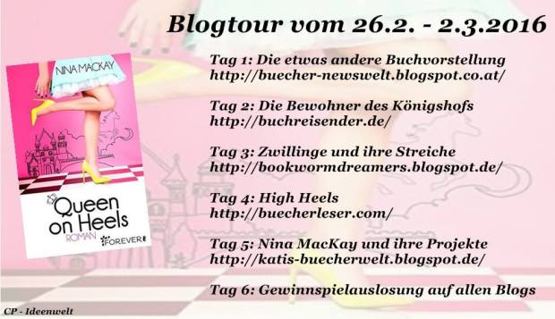 Blogtour Queen on Heels