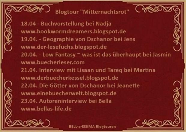 Blogotur Mitternachtsrot
