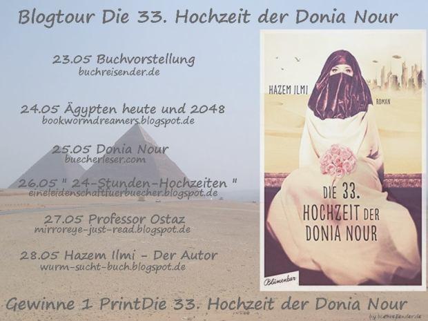 Banner 33. Hochzeit der Donia Nour