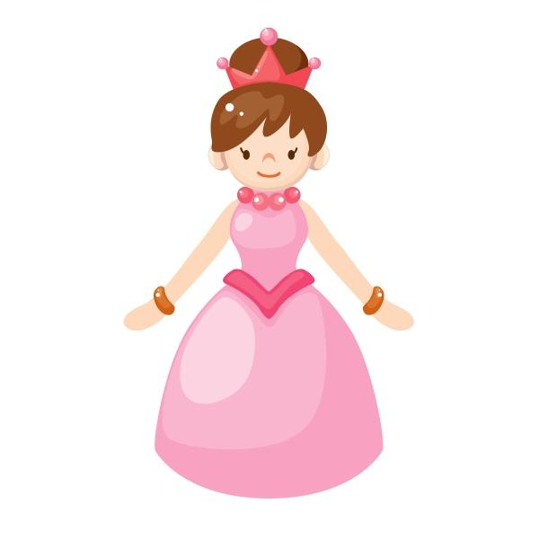 Bügelbild Prinzessin 2