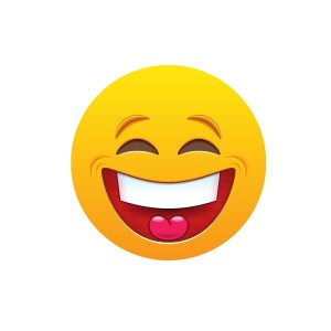 Bügelbild Emoji - BIG SMILE